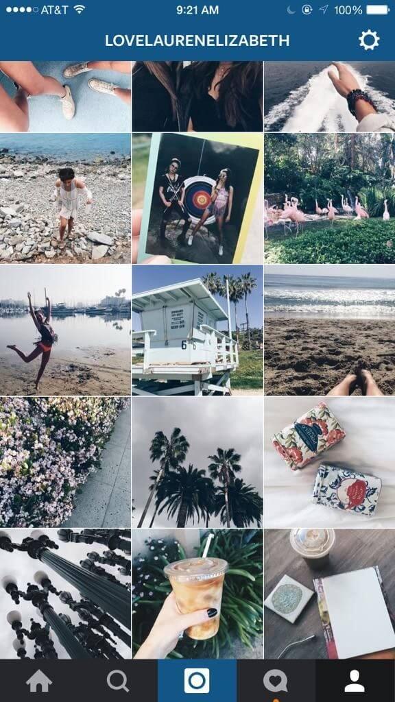 storyline в Instagram